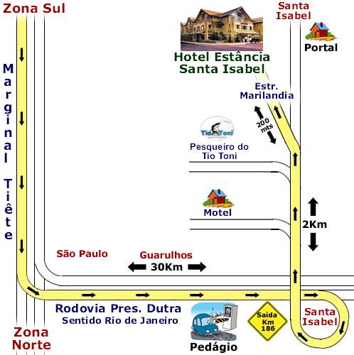 A partir de São Paulo
