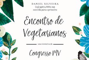 Unasp EC e Hortolândia: 🌽 Primeiro Encontro de Vegetarianos