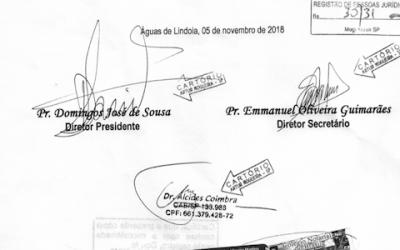 Estatuto da UCB e Ata da Quinquenal 2018