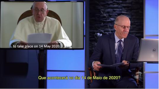 Papa Convoca Líderes para 2020