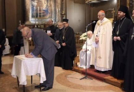 Ecumenismo em Bolonha: Pastor Agiu Independentemente