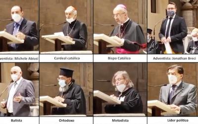 Ecumenismo Descarado na Itália 2021 – E Explicação sem Demissões